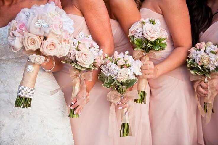 The Hottest Colors Of Wedding Flowers 2015 Hizon S