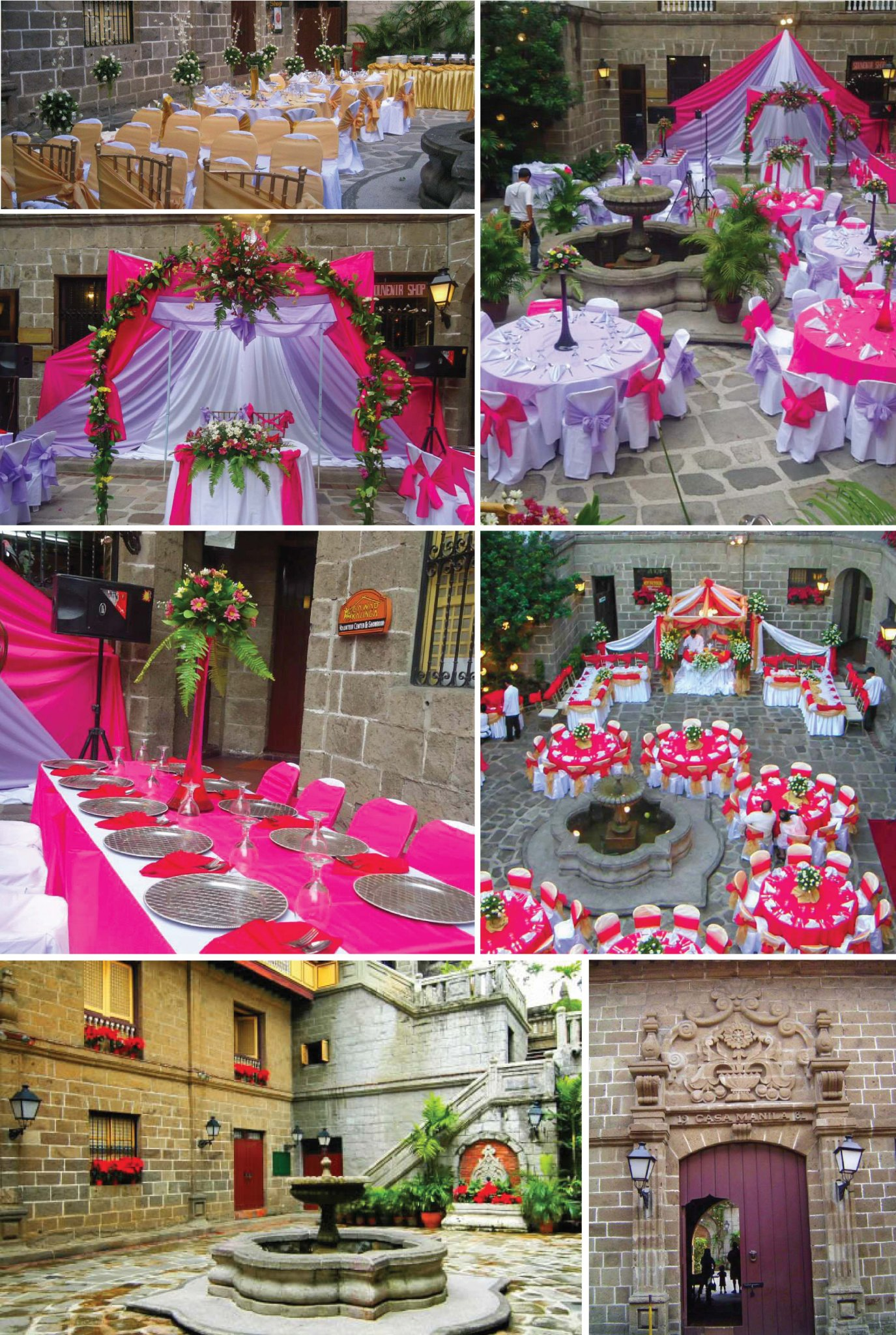Wedding Anniversary Ideas Manila : Casa Manila Patio Event Venue Information Reception Venue in Manila