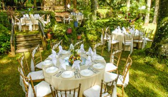 Main hall hizon 39 s catering catering services for for Jardin de miramar