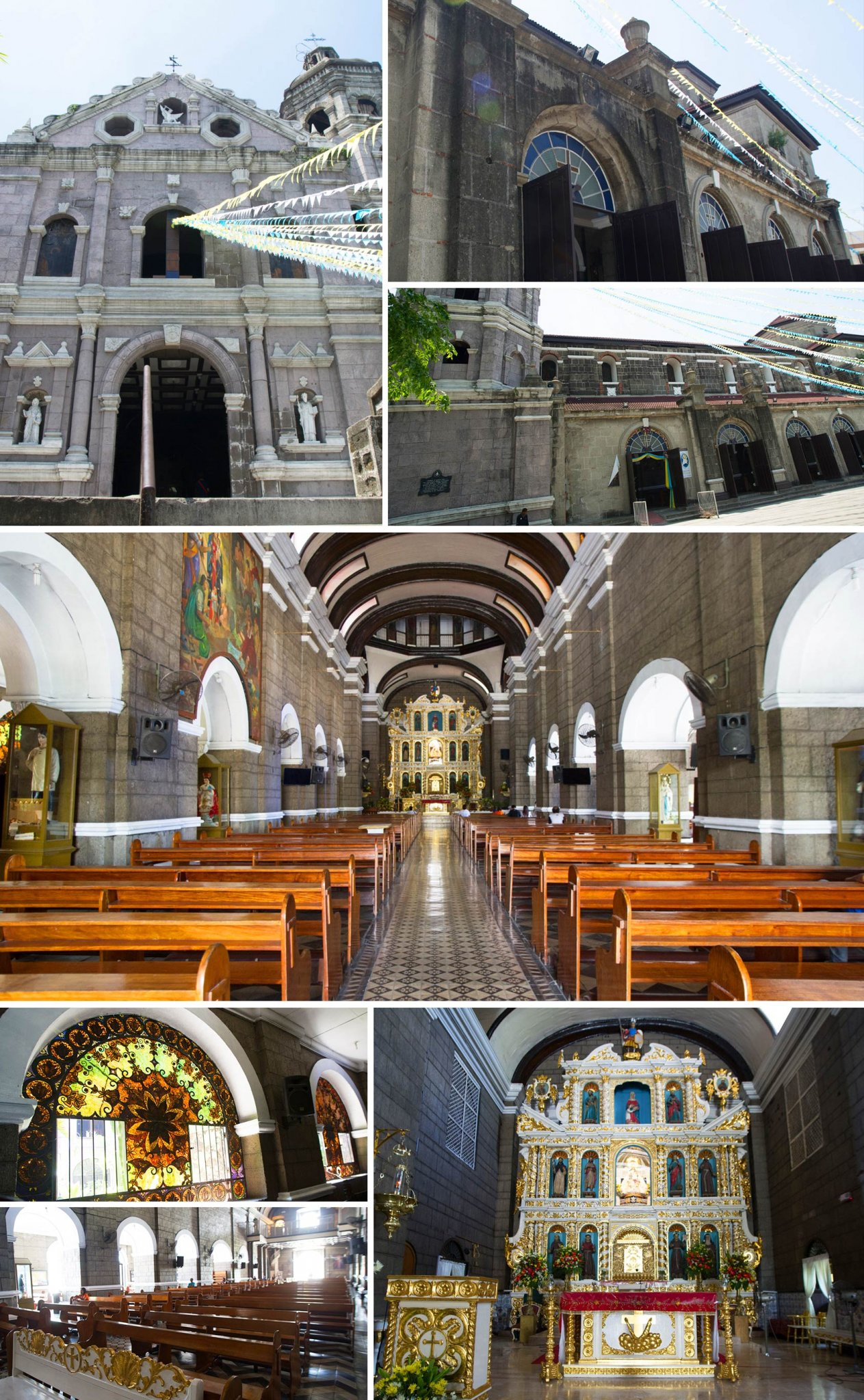 Shrine of Our Lady of the Abandoned – Sta. Ana Church