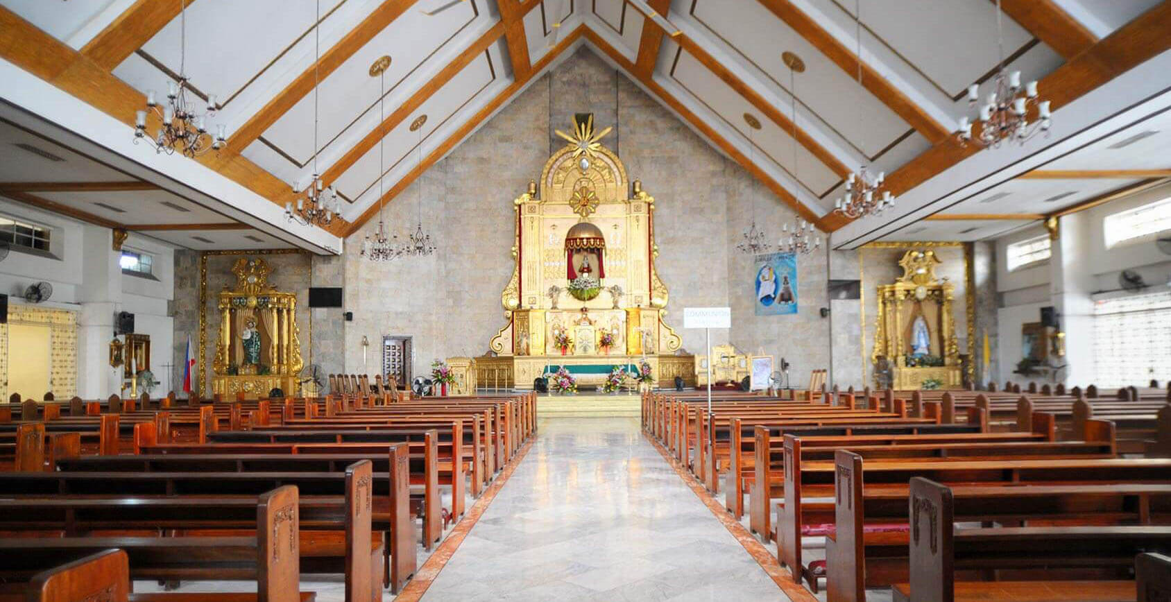 10 Wedding Churches Its Near Venues In Quezon City Hizons Catering